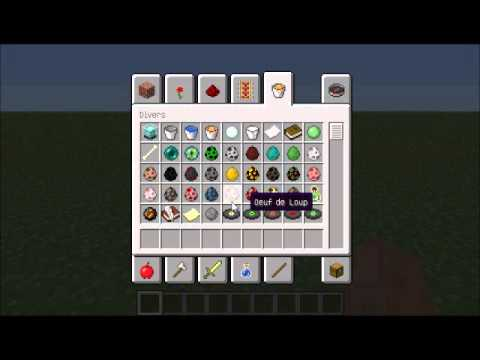 Minecraft comment faire un chien - YouTube