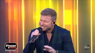 "Backstreet Boys sing ""Chances"" Live on Strahan and Sara 2019 HD 1080p."