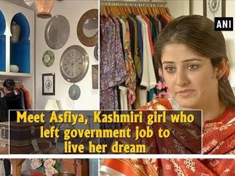 Meet Asfiya, Kashmiri Girl Who Left Government Job To Live Her Dream - Jammu And Kashmir News