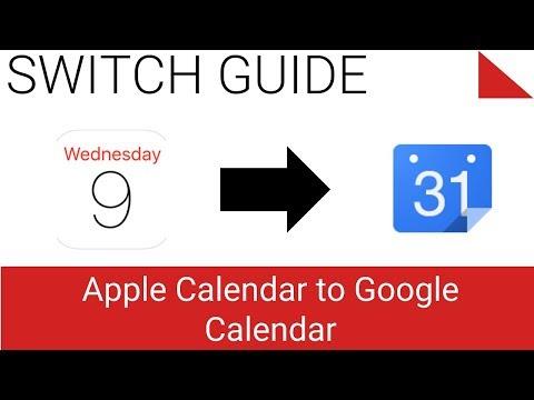 iCloud Calendar to Google Calendar