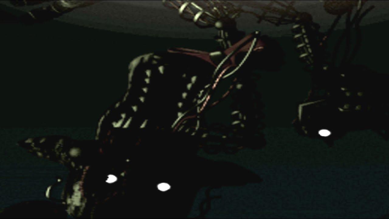 Nights at freddy s 3 secret mangle animatronic endoskeleton youtube