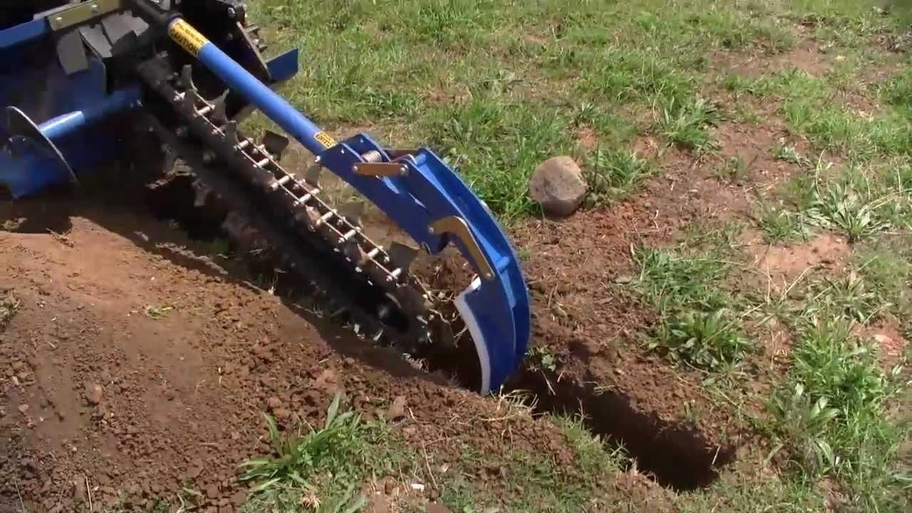 Chain trencher — Sandhurst | Hydraulic Excavator Attachments