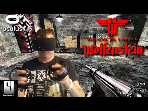 Play RETURN TO CASTLE WOLFENSTEIN In VR On Quest Thanks To This AWESOME New VR Mod! // Oculus Quest
