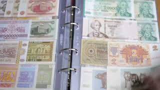 Part #1 Коллекция иностранных банкнот.