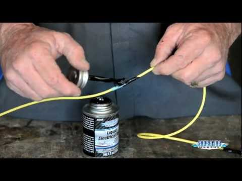 How to Make Watertight Electric Connections