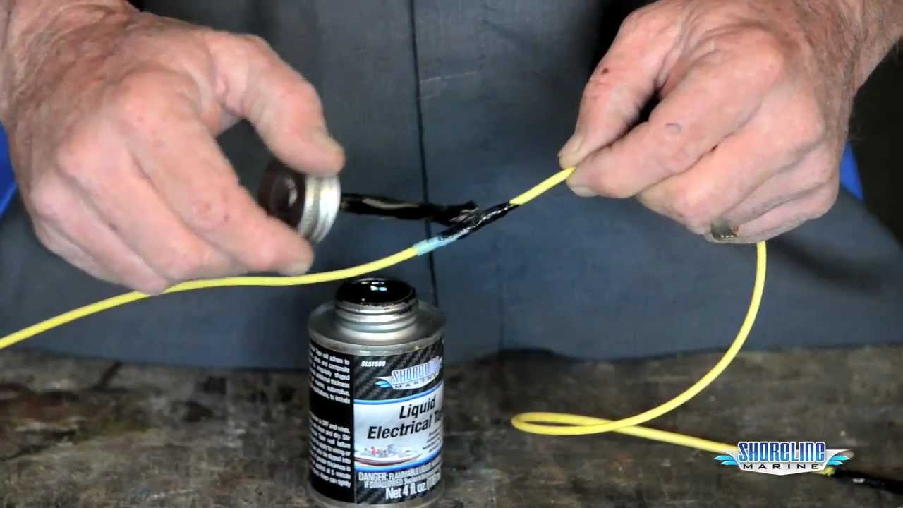 How to Make Watertight Electric Connections - YouTube