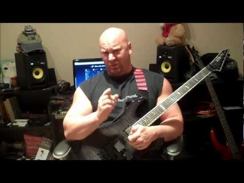 Powerful Power Chords for Metal Guitar   7 String Tones with a 6 String