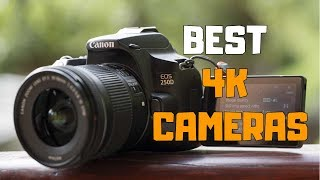 Links to the best 4k cameras we listed in this camera review video: 1. canon eos rebel sl3 us: https://amzn.to/2x2gy4p ca: https://amzn.to/3bd6spt uk: htt...