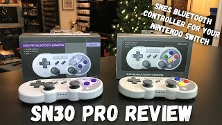 8Bitdo SN30 Pro - Unboxing & Review - Super Nintendo Style Bluetooth Controller