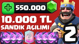 550.000 GEM / 10.000 TL CHEST OPENING Part 2