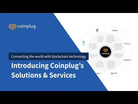 Coinplug - connecting the world with blockchain technology