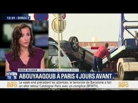 Ce qu'a fait l'auteur de l'attentat de Barcelone à Paris