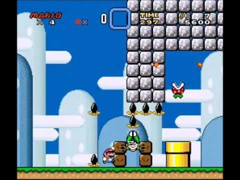 Super Mario Kaizo Level 1 Walkthrough [Avicii Mario Levels] (Cemoo HD)