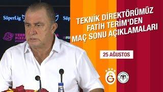 Teknik Direktörümüz Fatih Terim'den Maç Sonu Açıklamaları | #GSvKNY