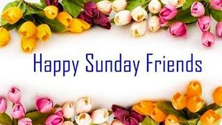 || Happy Sunday Good 🌅 Morning Whatsapp Status 2018 ||  [ Good Sunday Whatsapp Status Flute Song ]