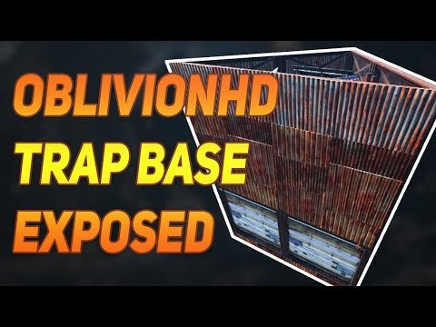 Rust OblivionHD Trap Base Tutorial | How to Build thumbnail
