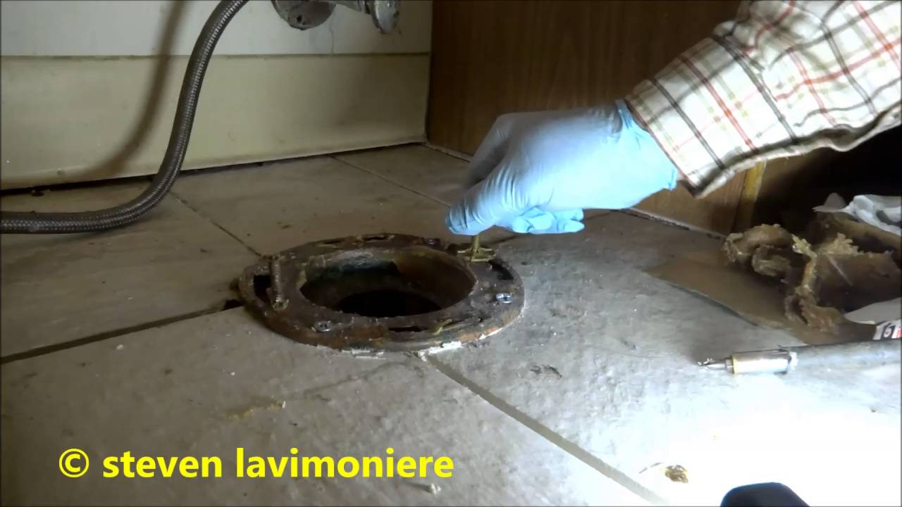 Flange Leak Wire : Leaking copper toilet flange addressed youtube