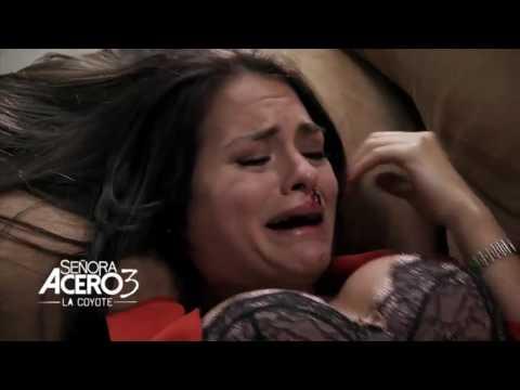 Señora Acero 3   -El Chaneque cachetea a Deborah-