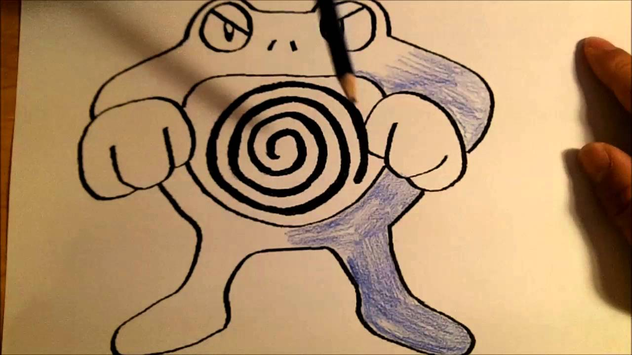 Poliwrath Coloring - YouTube