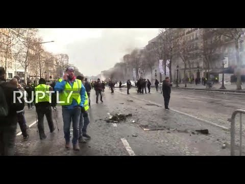 LIVE: Yellow Vests call for new protests in Paris on final day of Macron's 'Grand Debate' (PART 2)