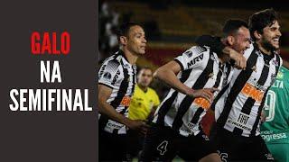 Galo avança à semifinal da Sul-americana e faz bem ao valorizar um título possível