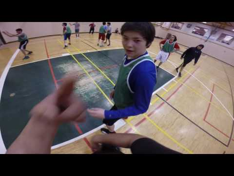 GoPro View U16 Aboriginal Team Ontario Basketball Tryouts in Fort Albany First Nation