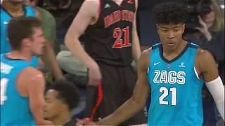 Gonzaga 八村 塁選手 NCAA開幕戦! 33PTS