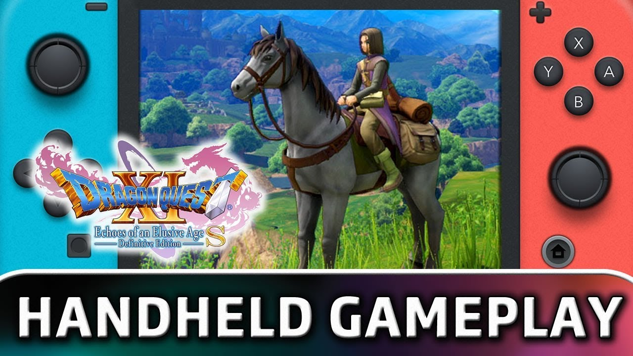 Dragon Quest XI S | 10 Minutes in Handheld MODE on Nintendo Switch