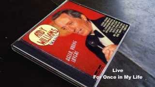 andy williams original album collection Vol.2   For Once in Life 1973
