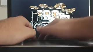 OLGU İPEK- David Guetta & Sia - Flames Virtual Drumming Cover 2019