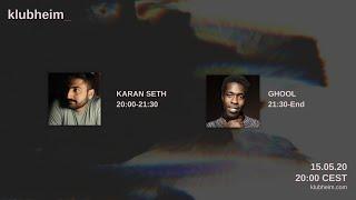 Karan Seth - Klubheim Debut Night 15.05.20