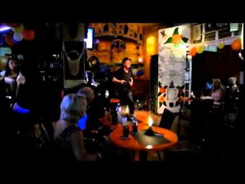 Gus Myers in the Wali Haii Tenerife - Rock `n Roll