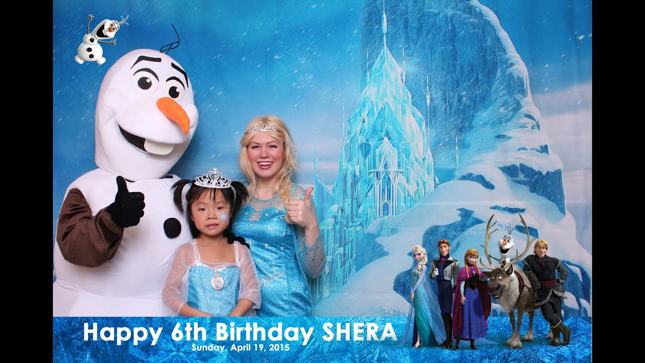 Frozen Birthday Party Youtube
