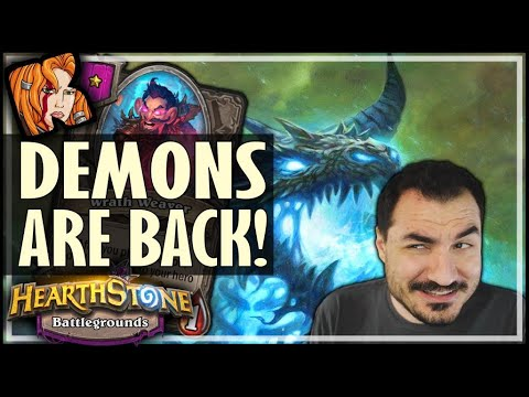 THIS ALWAYS HAPPENS PLAYING DEMONS! - Hearthstone Battlegrounds
