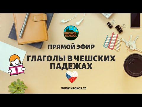 ГЛАГОЛЫ В ЧЕШСКИХ ПАДЕЖАХ    Прямой эфир 30.03.2020