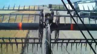 case axial flow 7130 afs 40 ft draper header
