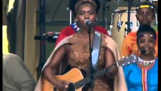 Presidential Inauguration 2014 Performance 1 - Botlhale, Zahara, Yvonne Chaka Chaka