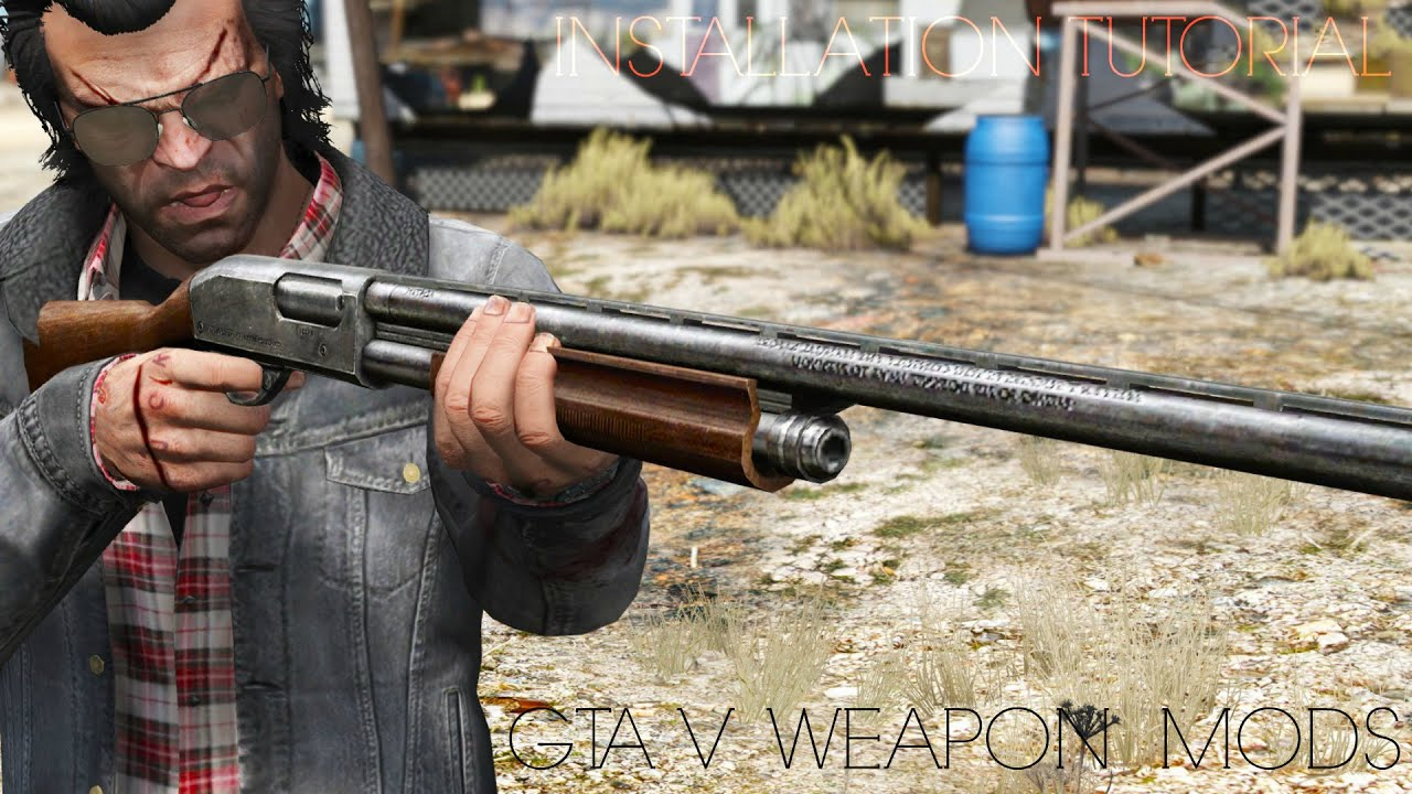 Gta 5 Addon Weapons