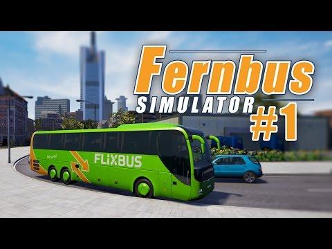 FERNBUS SIMULATOR #1: Start in Düsseldorf am Depot! I Let's Play Fernbus Simulator deutsch