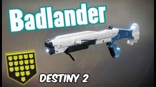 EASY WE RAN OUT OF MEDALS! New Badlander Full Auto Shotgun PVP Showcase - Destiny 2 Forsaken