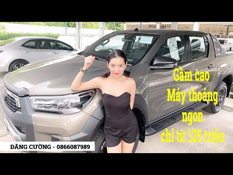 Giá xe Toyota Hilux tháng 3 - Mua xe trả góp chỉ từ 125tr