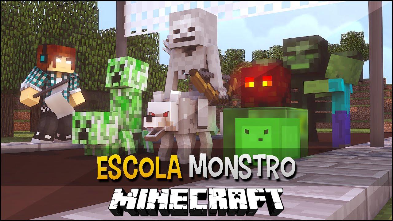 Minecraft Escola Monstro #12