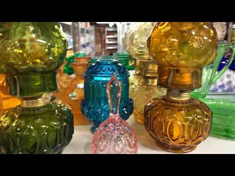 American Made Glassware of the Depression, Elegant, and Mid-Century Eras.