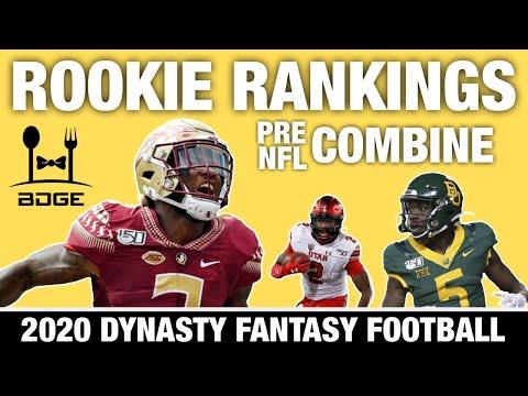 Dynasty Rookie Rankings - 2020 Fantasy Football