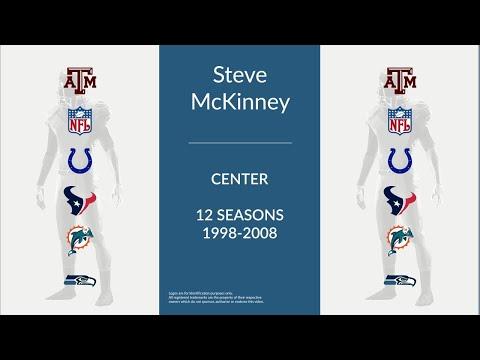 Steve McKinney: Football Center and Guard