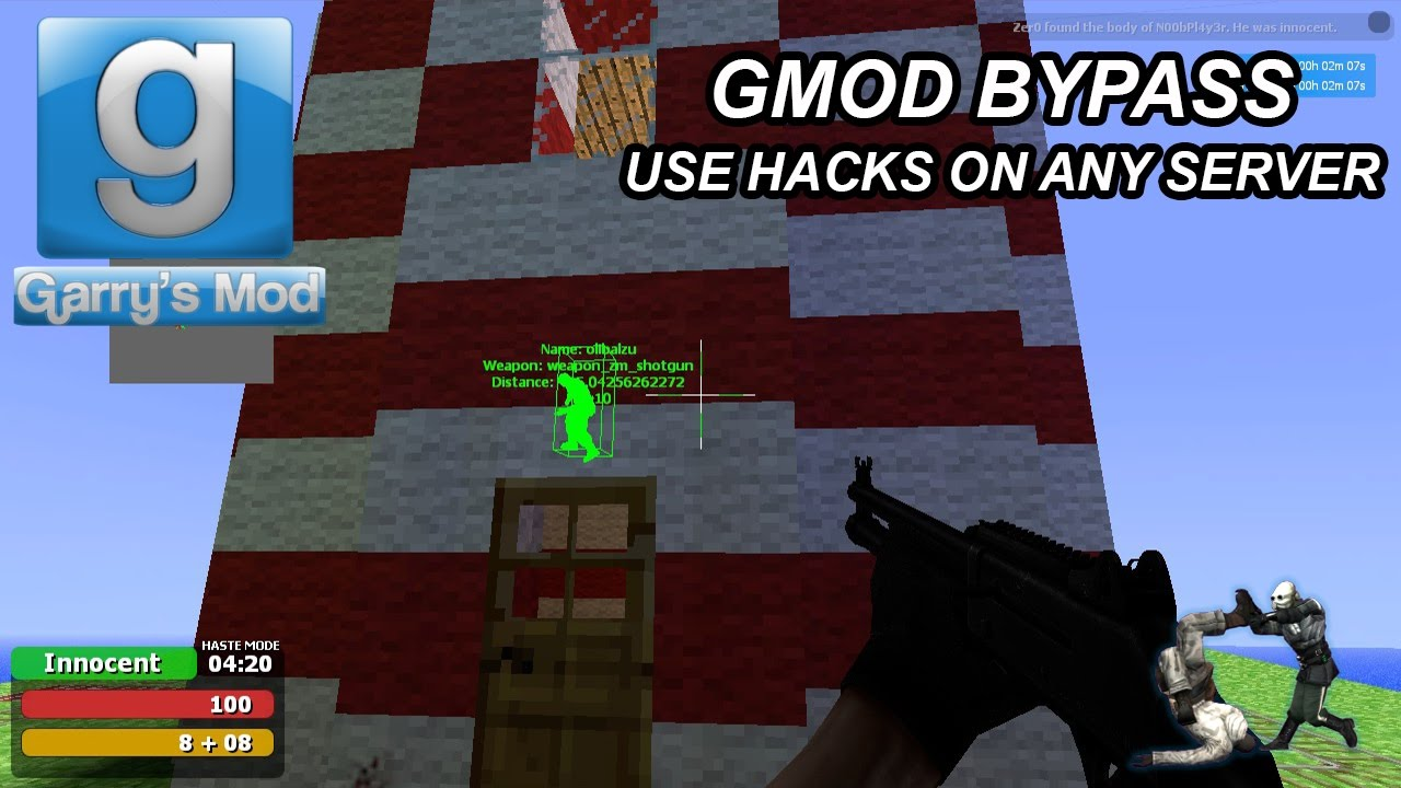 gmod bypass code for iphone