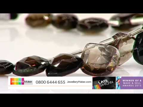 Diamonds for jewellery making: JewelleryMaker Late show  LIVE 24/07/2014