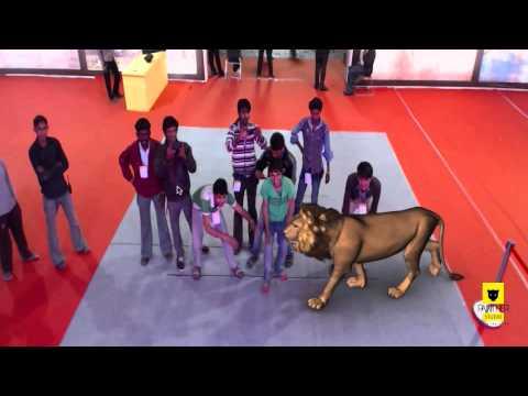 Augmented Reality at Glorius Gujarat Vision 2020