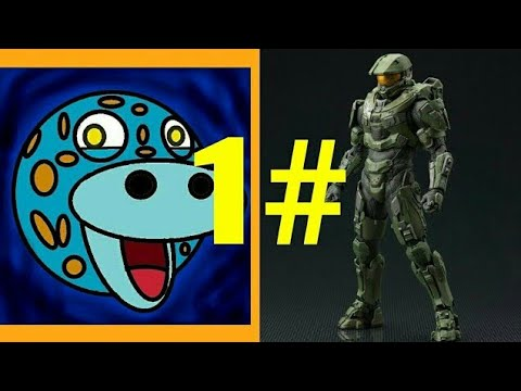 Gecko turning into Master Chief art project (part 1)