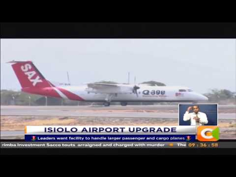 Isiolo leaders urge gov't to upgrade Isiolo Airport